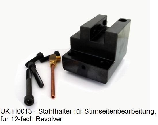 Stahlhalter für Stirnseite (20x20mm)